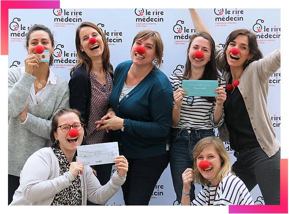 Photoweb: engagement pour le rire médecin