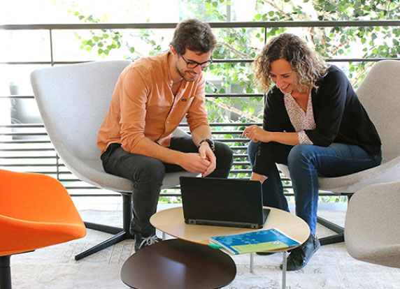 Espace de coworking chez Photoweb