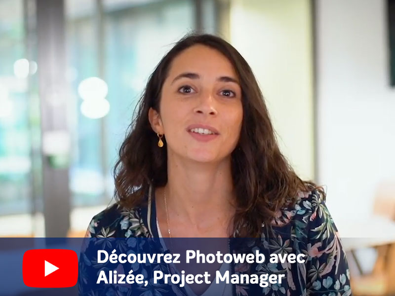 Photoweb Alizée, project manager