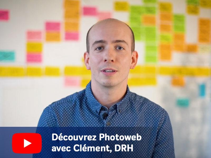 Photoweb, Clément, DRH